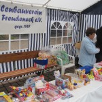 The annual village fete stall in Freudeneck